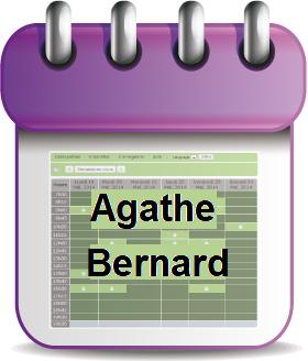 Prendre Rendez-vous avec Agathe Bernard